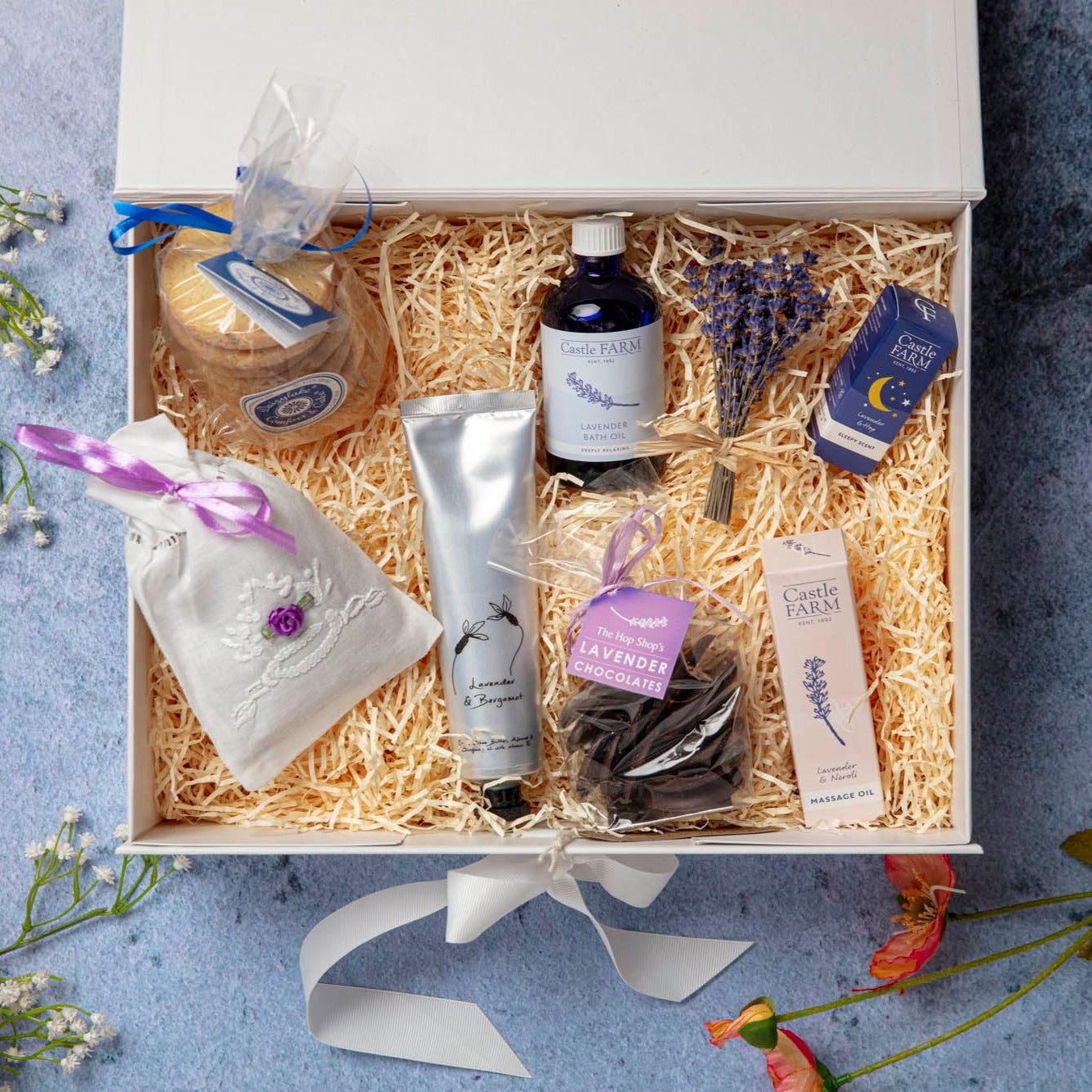 THE LAVENDER PAMPER HAMPER
