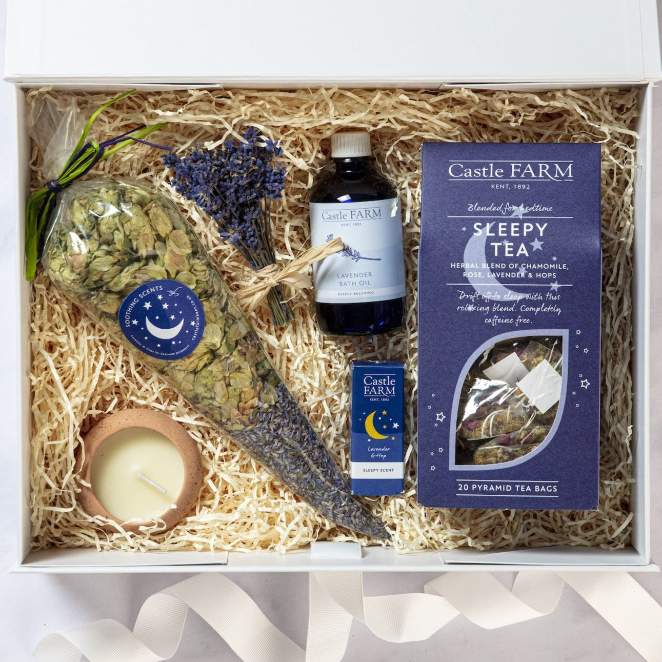 THE LAVENDER SLEEP HAMPER