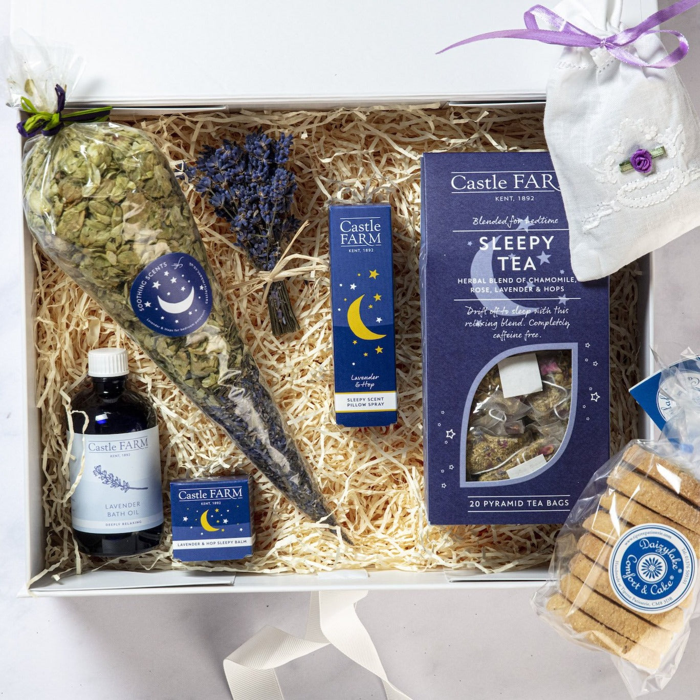 THE ULTIMATE LAVENDER SLEEP HAMPER