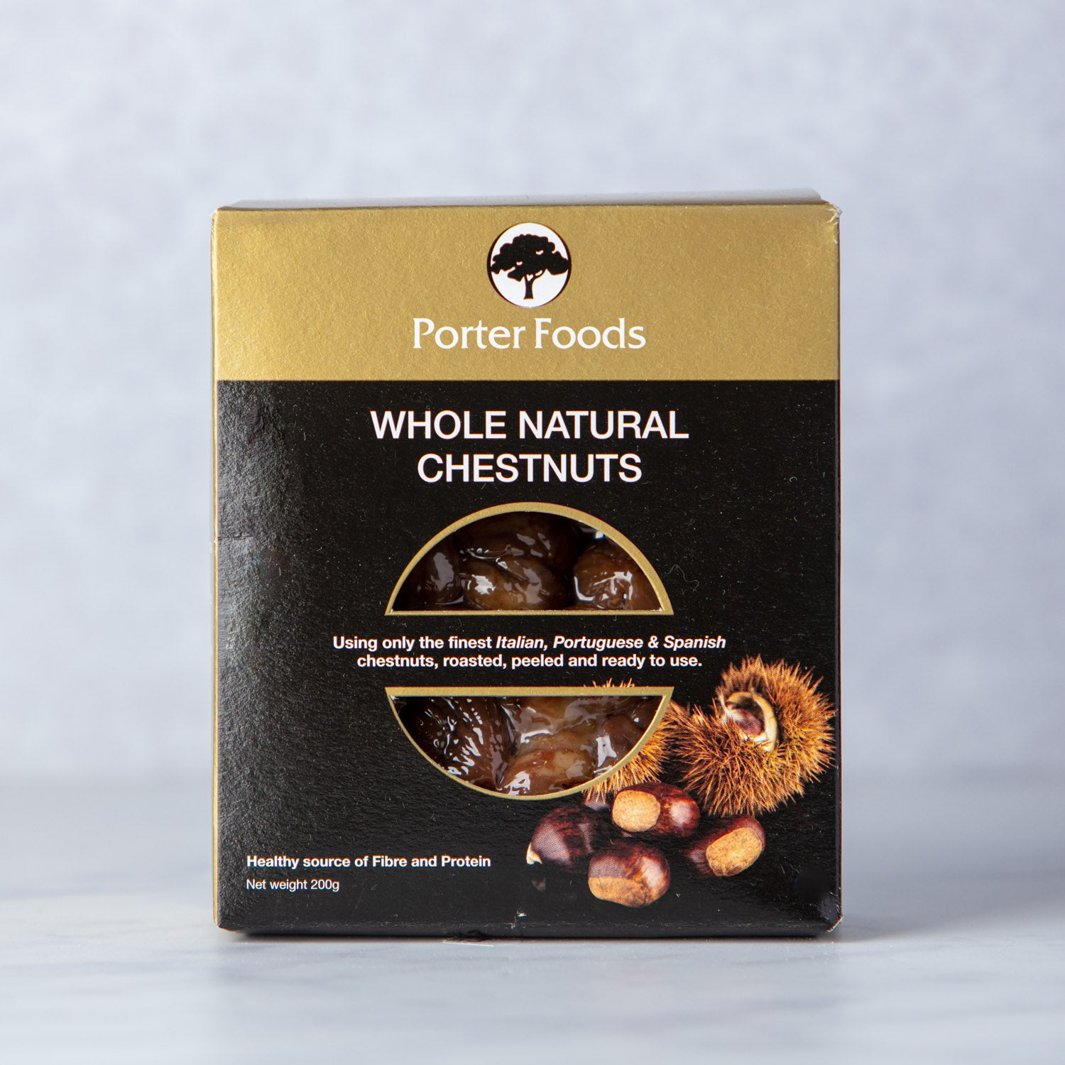 WHOLE NATURAL PEELED CHESTNUTS