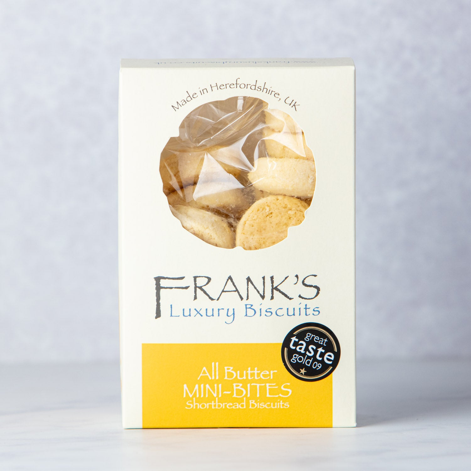 FRANKS ALL BUTTER MINI SHORTBREAD BISCUITS
