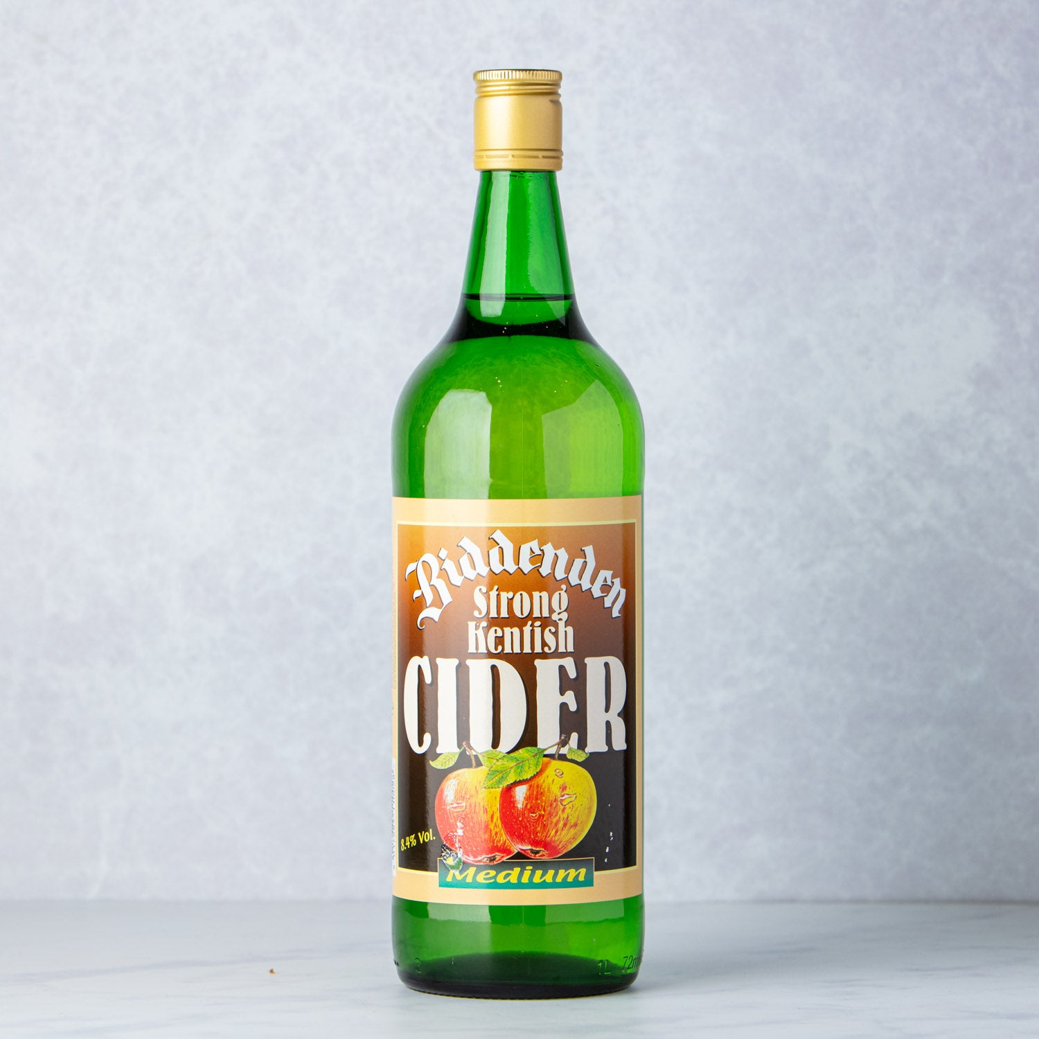 BIDDENDEN STRONG KENTISH CIDER - MEDIUM