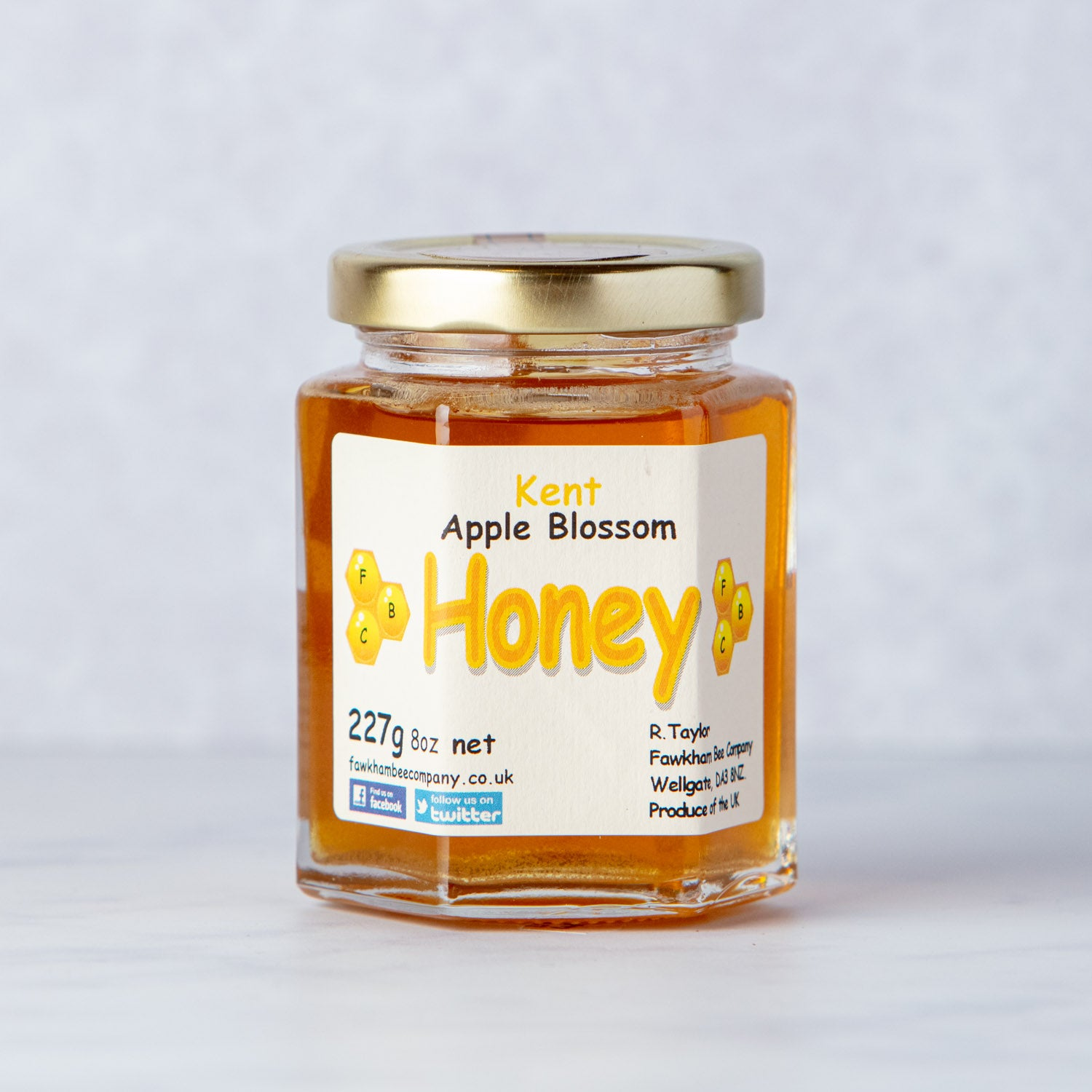 KENT APPLE BLOSSOM HONEY - LIQUID 227g