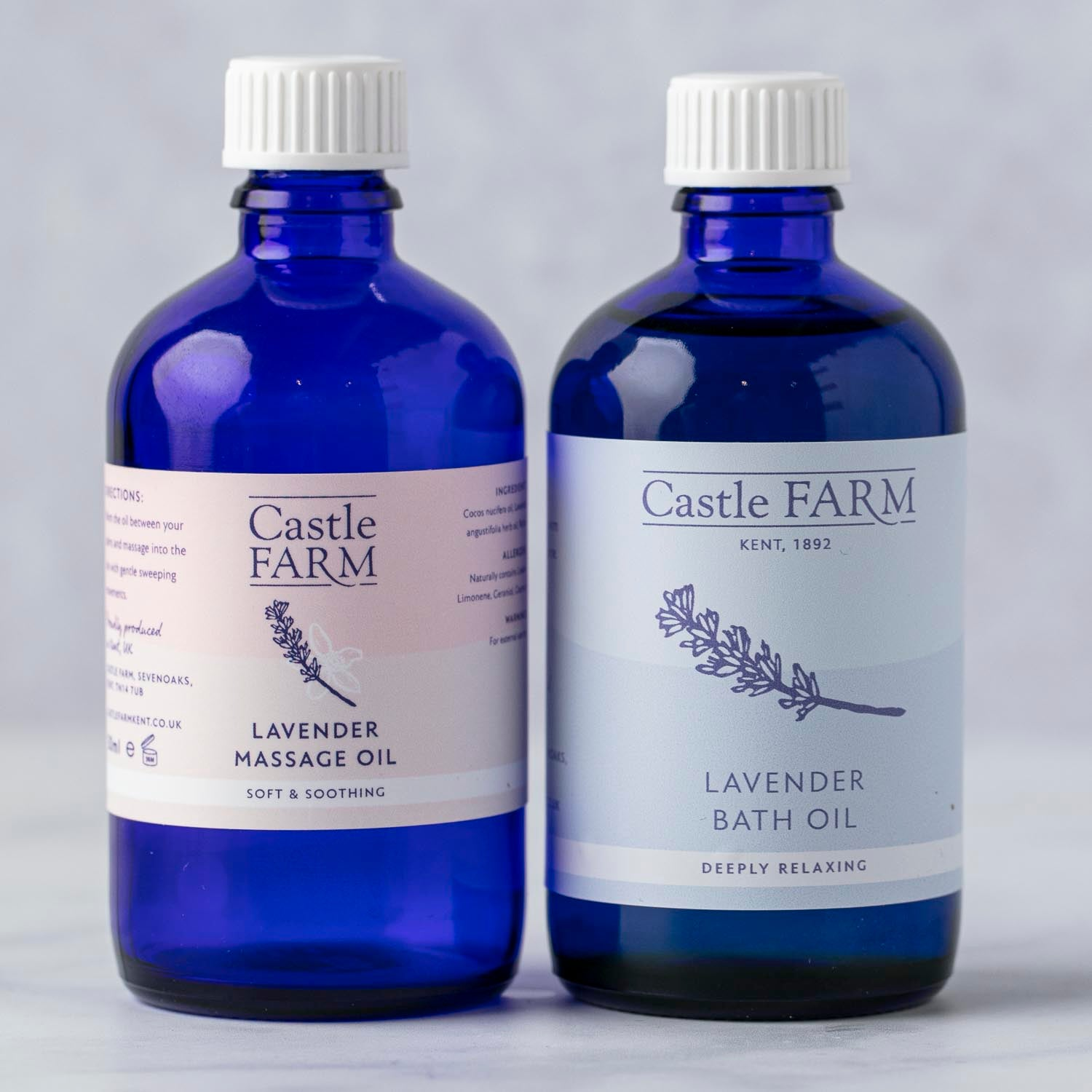 CASTLE FARM LAVENDER RELAXATION PACKAGE 2x100ml