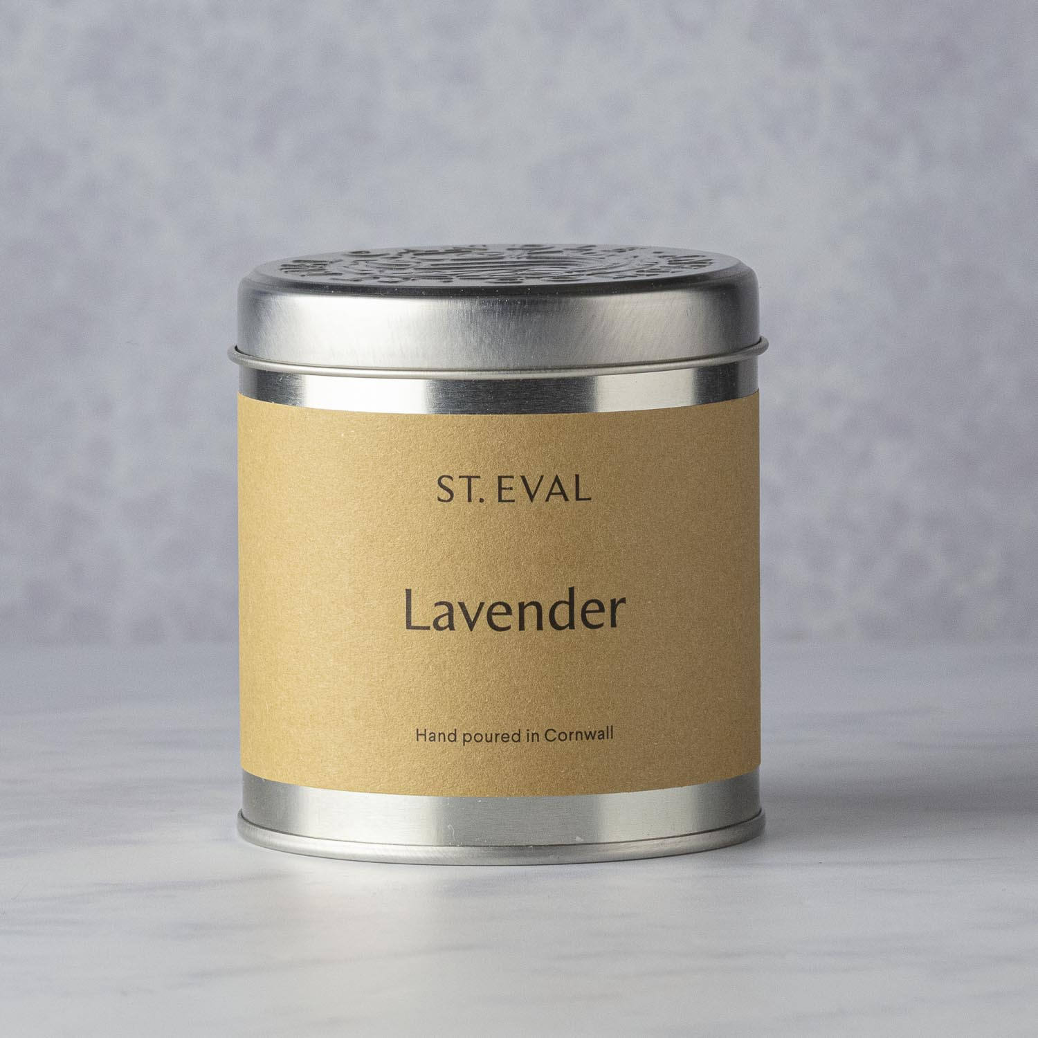 ST. EVAL CANDLE IN A TIN