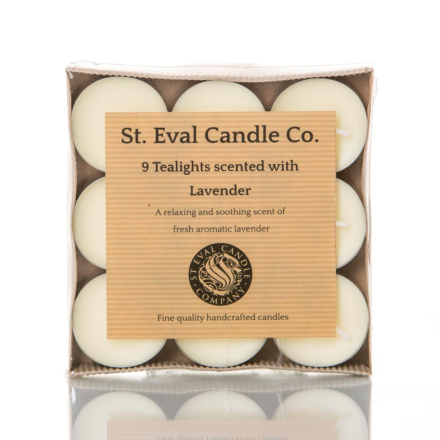 ST. EVAL LAVENDER TEALIGHT CANDLES