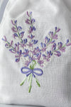 CASTLE FARM LAVANDIN IN EMBROIDERED BAG