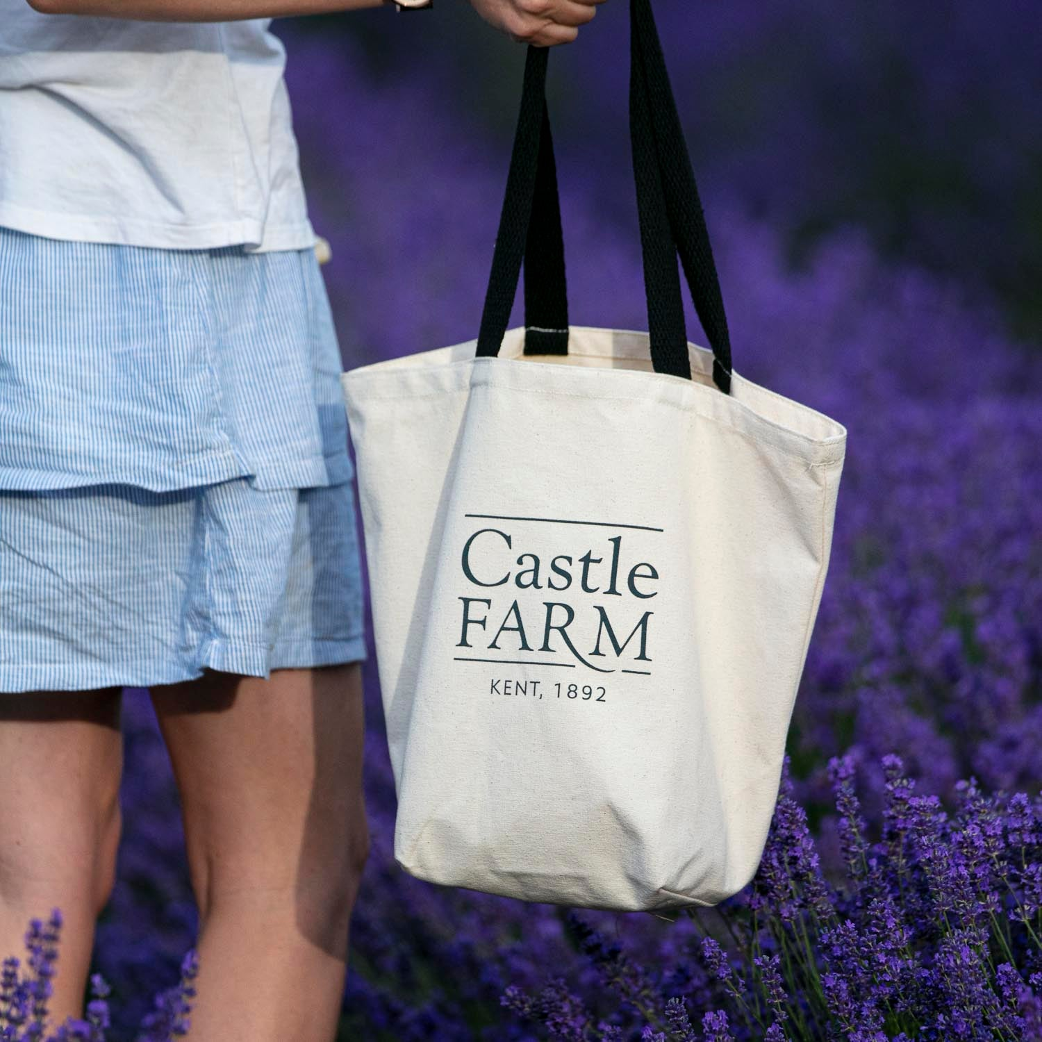 CASTLE FARM CANVAS BAG
