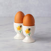 CERAMIC EGG CUP WITH BUTTERCUP & BEE
