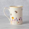 WILDFLOWER & BEE FINE CHINA MUG