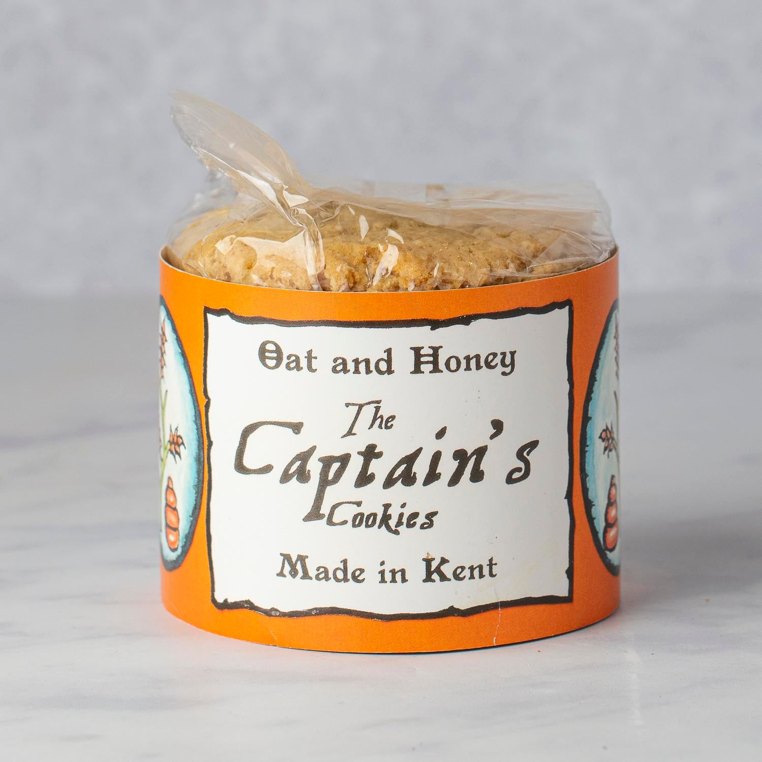 CAPTAIN'S COOKIES OAT & HONEY - 240g