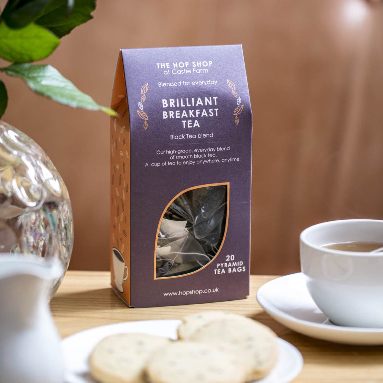 CASTLE FARM BRILLIANT BREAKFAST TEA - TEA BAGS