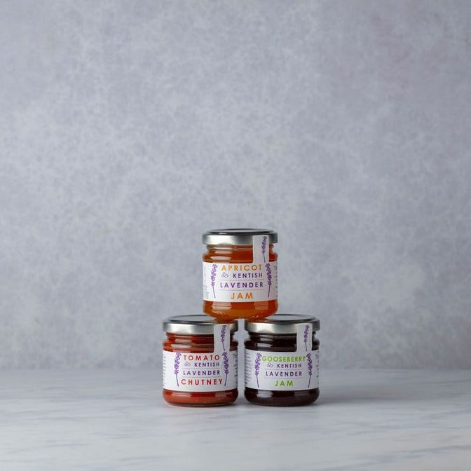 MINI LAVENDER JAM & CHUTNEYS