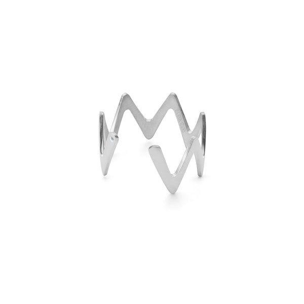 Large Zigzag Stackable Ring-Women - Jewelry - Rings-Fine Bijou