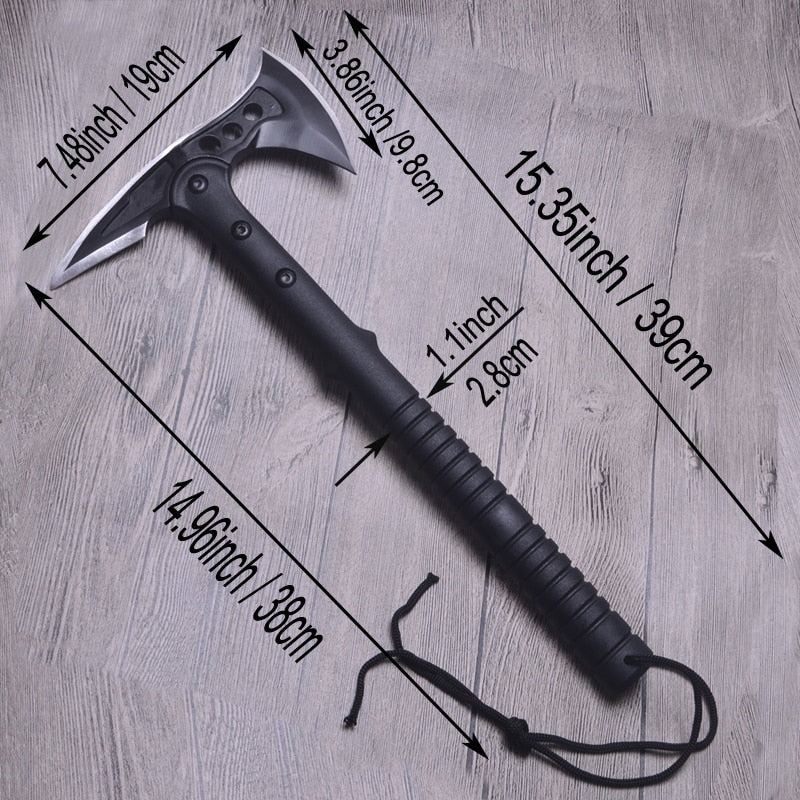 King Sea Tactical Axe Tomahawk Hatchet Machete Army Outdoor Hunting Camping Survival Tool
