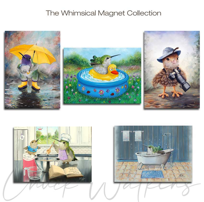 Whimsical Magnet Collection