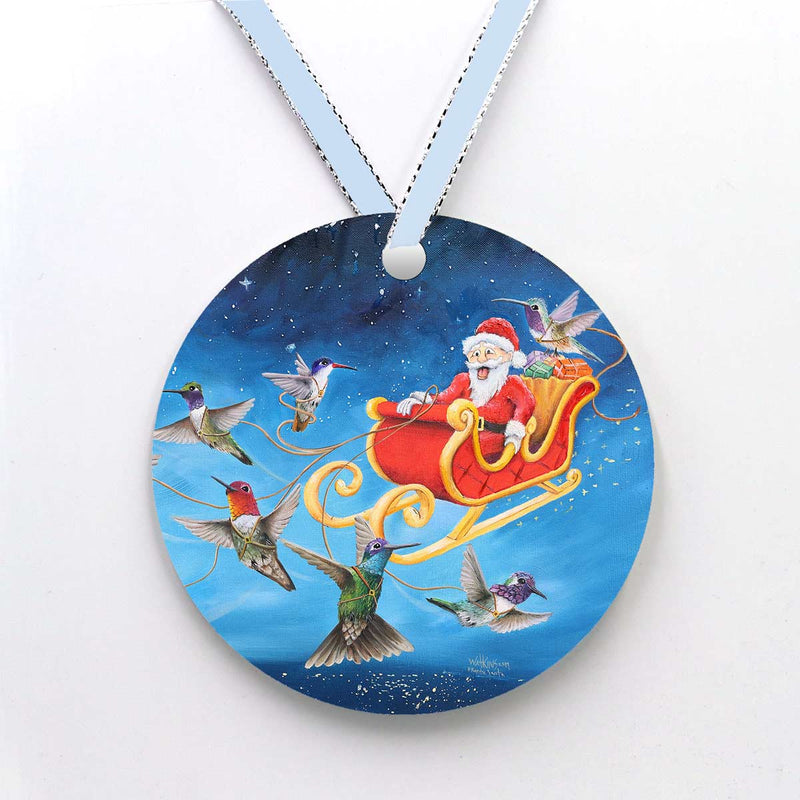Frantic Santa Christmas Cards