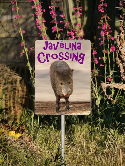 Javelina Crossing Yard Sign