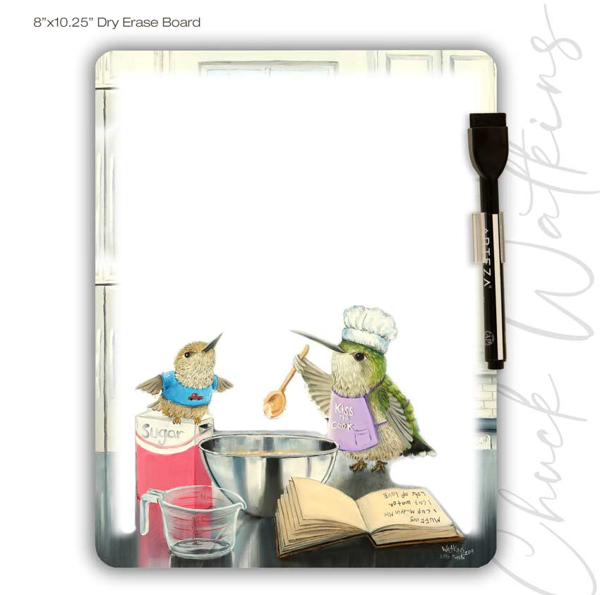 Little Muffin Dry Erase Board