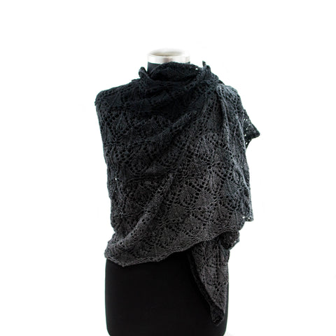 armeria wrap lace cashmere knitting