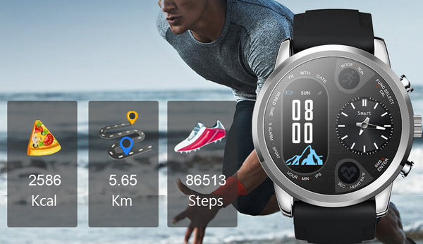 MEN'S SPORT SMART WATCH FOR ANDROID AND IPHONE