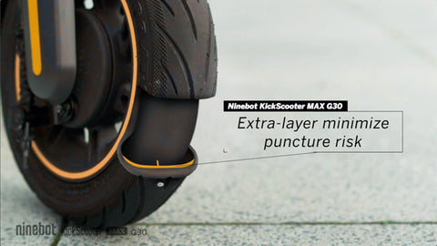 Ninebot Max G30 tyre