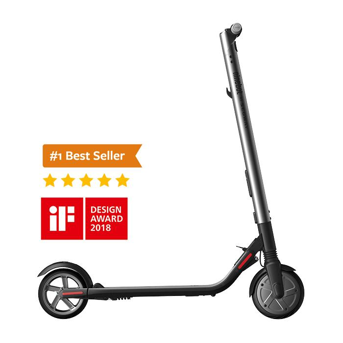 Ninebot ES2L Electric Scooter by Segway kickmotion