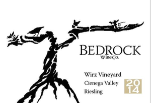 Bedrock Wine Co. Wirz Riesling Cienega Valley, Central Coast, CA  2018
