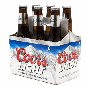 Coors Light, 6 Pack
