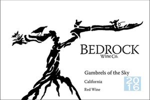 Bedrock Wine Co Gambrels to the Sky Grenache California 2018