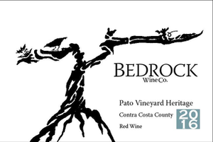 Bedrock Wine Co Pato Heritage Contra Costa, California 2018