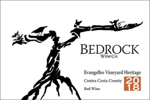 Bedrock Wine Co Evangelho Heritage, Contra Costa County, California 2019
