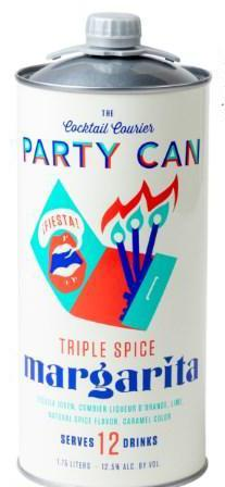 "Cocktail Courvier ""Party Can"" Triple Spice Margarita 1.75 L"