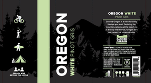 Oregon Pinot Gris Can, 375ml
