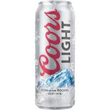 Coors Light Cans, 12 Pack
