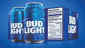 Bud Light Cans, 12 Pack