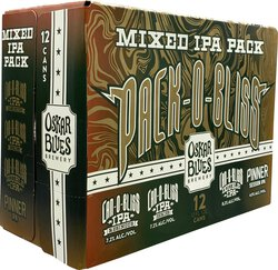 Oskar Blues Pack-O-Bliss, 12 Pack Variety