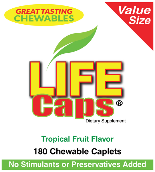 LifeCaps 180 Value Size (180 x 3)