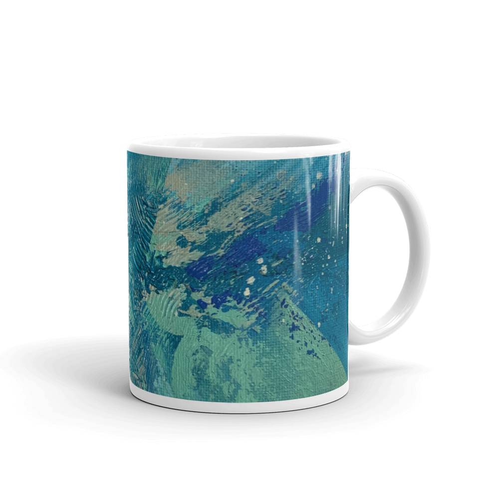 Flowing - Mug - AllArtApparel