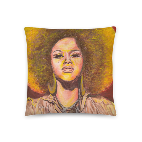 Who Is Jill Scott - Throw Pillow