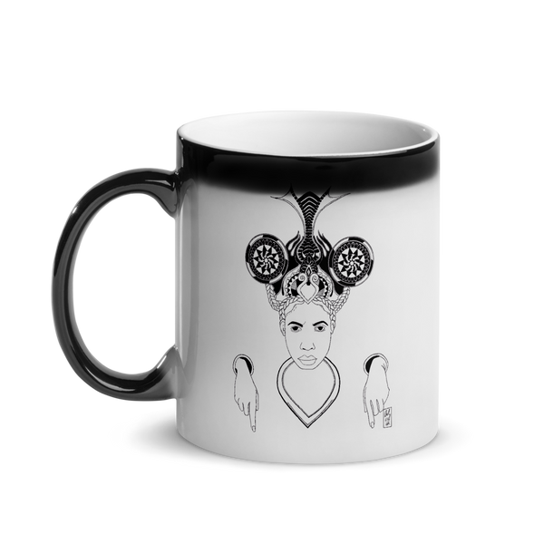 She -  Magic Mug - AllArtApparel