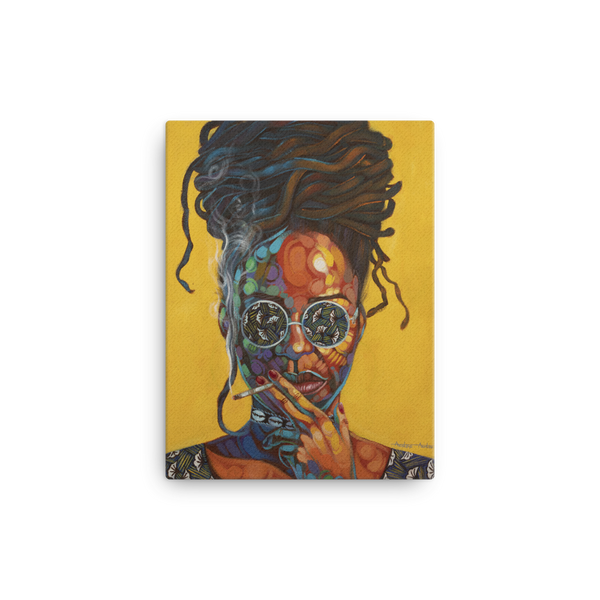 Woman of Steel - Canvas - AllArtApparel