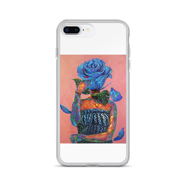 Lady Blue - iPhone Case - AllArtApparel