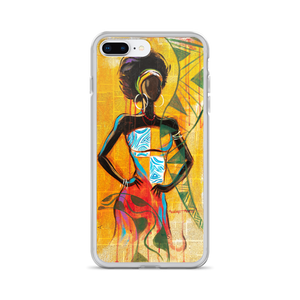 African Lady - iPhone Case - AllArtApparel