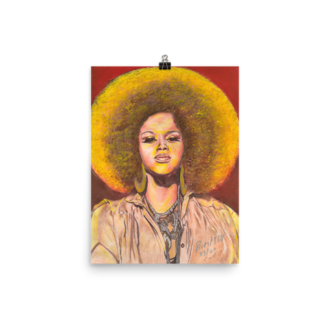 Who Is Jill Scott - Premium Print