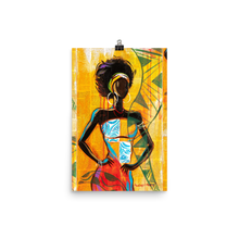 Load image into Gallery viewer, African Lady - Premium Print - AllArtApparel