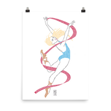 Load image into Gallery viewer, Ballerina - Premium Print - AllArtApparel