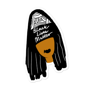 Black Lives Matter Girl - Sticker
