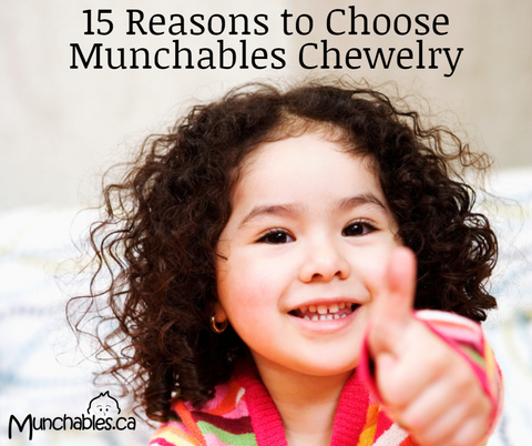 15 Reasons to Choose Munchables Sensory Chew Necklaces