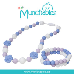 Munchables Roses Necklace